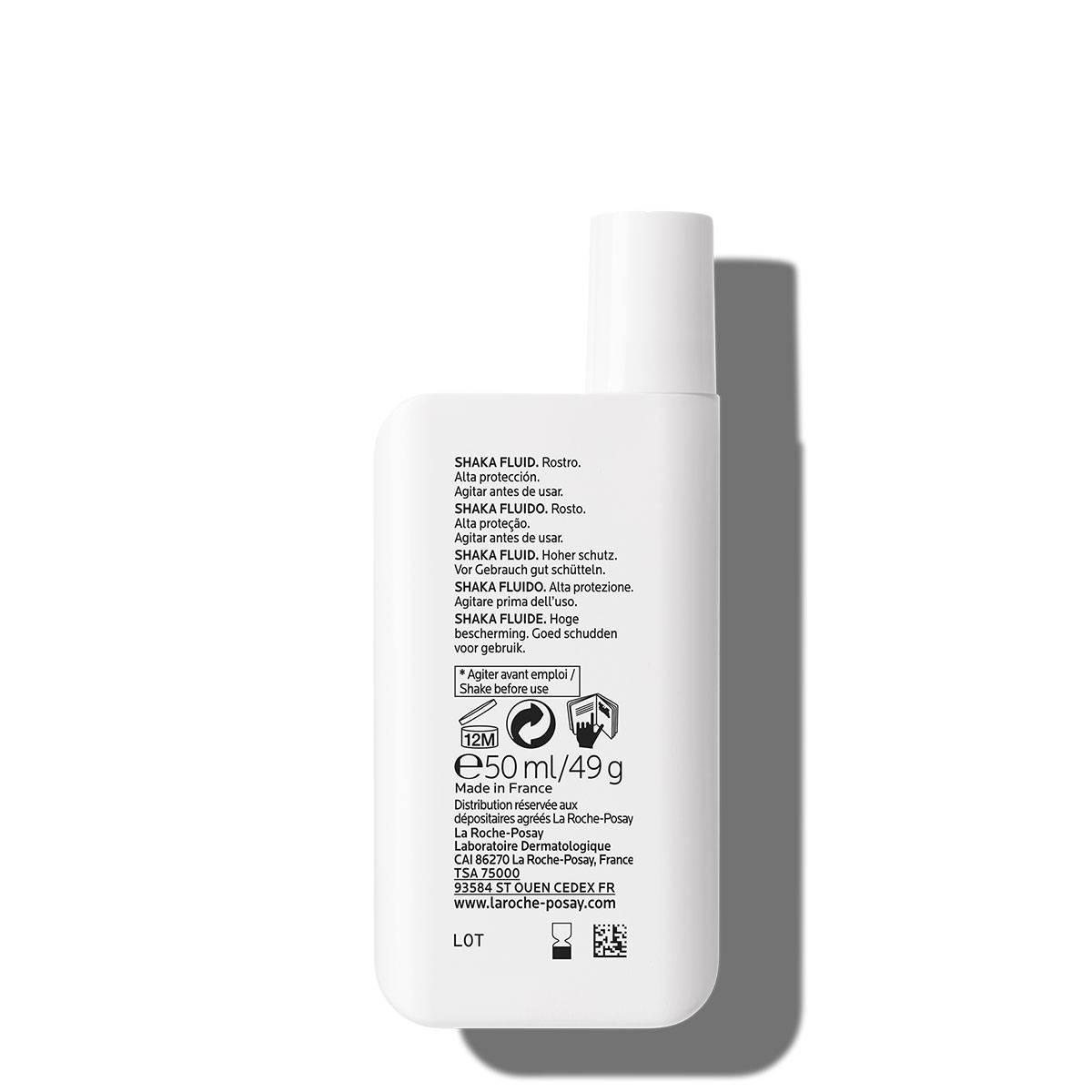 La Roche Posay ProductPage Sun Anthelios Shaka Fluid Spf30 50ml 301573