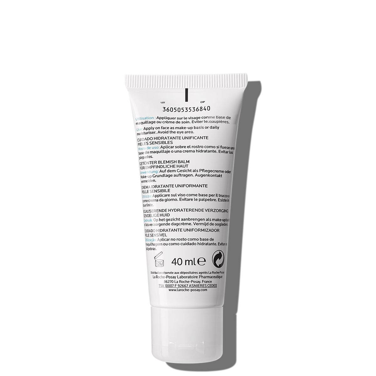 La Roche Posay ProductPage Hydreane BB Cream Medium 40ml 3337872413667
