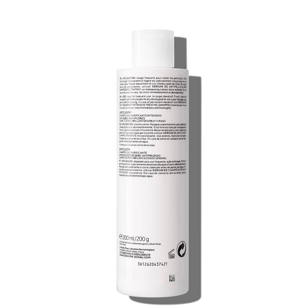 La Roche Posay ProductPage Kerium Anti Dandruff Gel Shampoo 200ml 3433