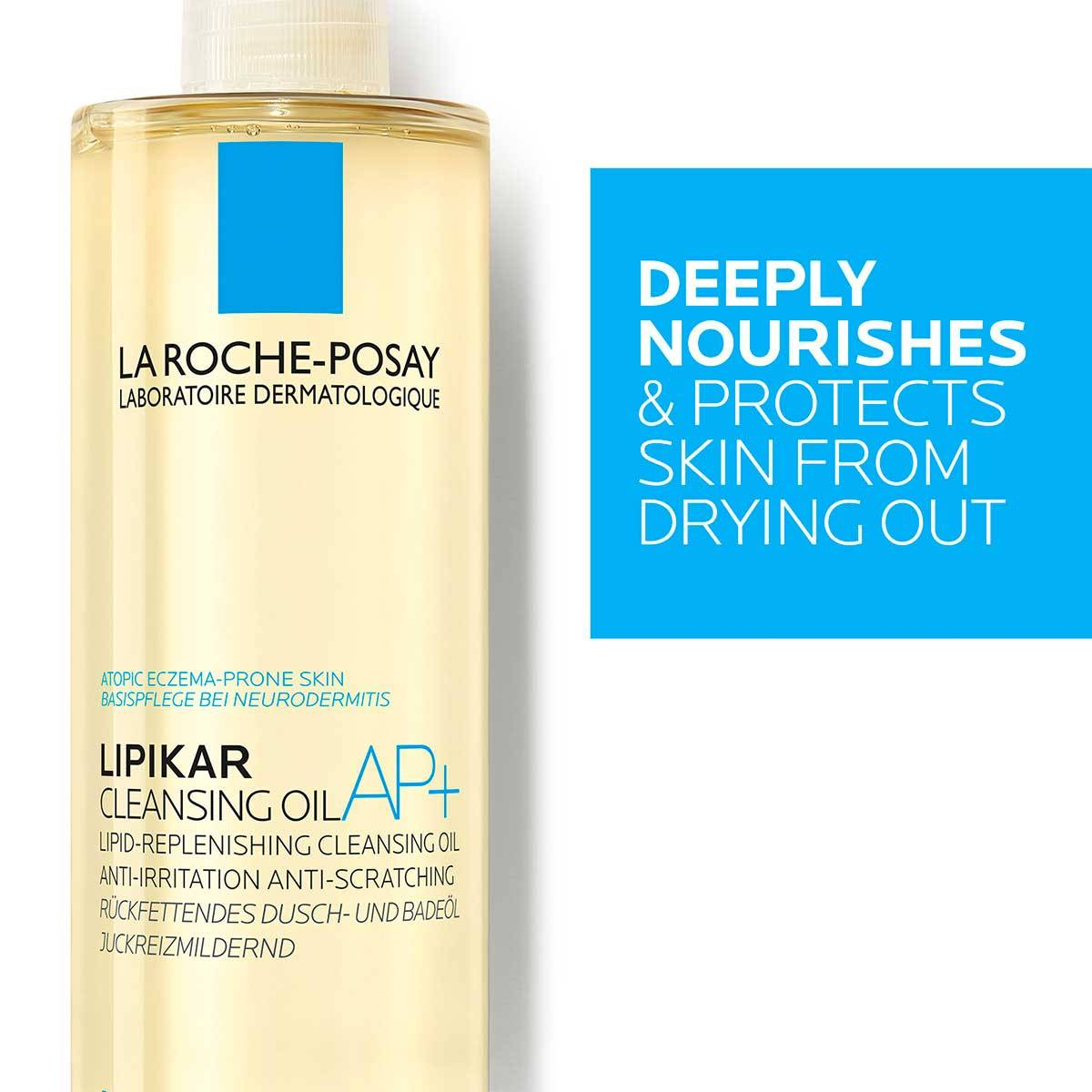 La Roche Posay Body Cleanser Lipikar Cleansing Oil AP 400ml 3337875656